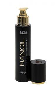 olejek Nanoil do włosów wysokoporowatych